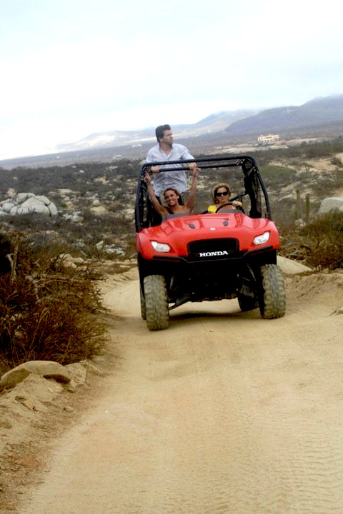A Rhino ATV in Cabo