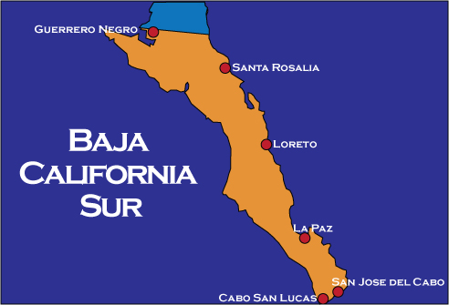 Leticia Klein's top places to visit in Baja California Sur