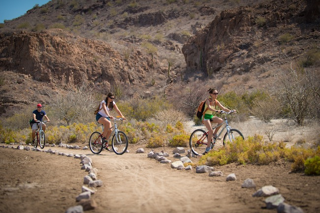 Mountain Biking in Loreto
