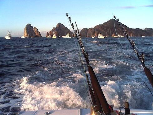 Deep Sea Fishing in Los Cabos.