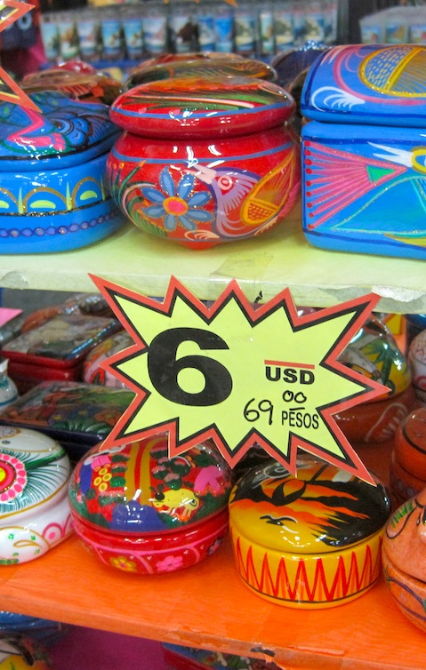 Trinkets like boxes are popular in Cabo