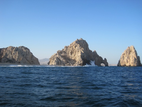 Land's End in Los Cabos from the Pacific Side