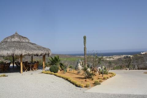 A restaurant at a Cabo golf course