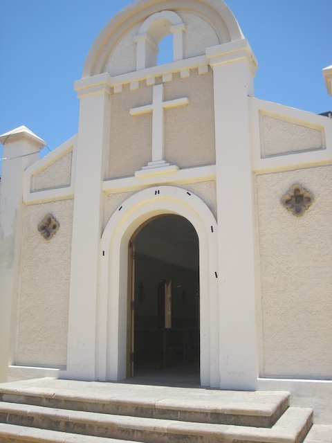 Iglesia de San Lucas is a Catholic church in Cabo San Lucas.