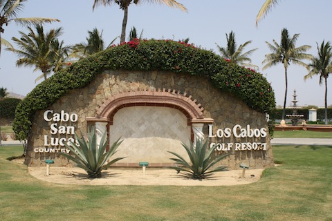 Entrance to Cabo San Lucas Country Club