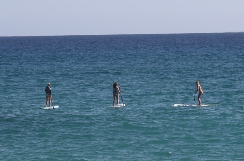 SUP is a great way to stay fit in Cabo.