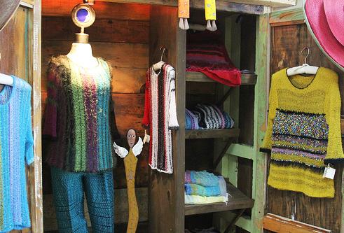 Shirts made from Cactus fibers at Casa Viega in Los Cabos