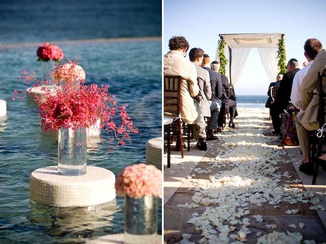 Wedding Ceremony at Cappella Pedregal in Cabo San Lucas