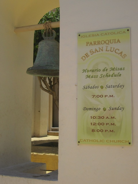 Mass times for the Catholic Church in Cabo San Lucas