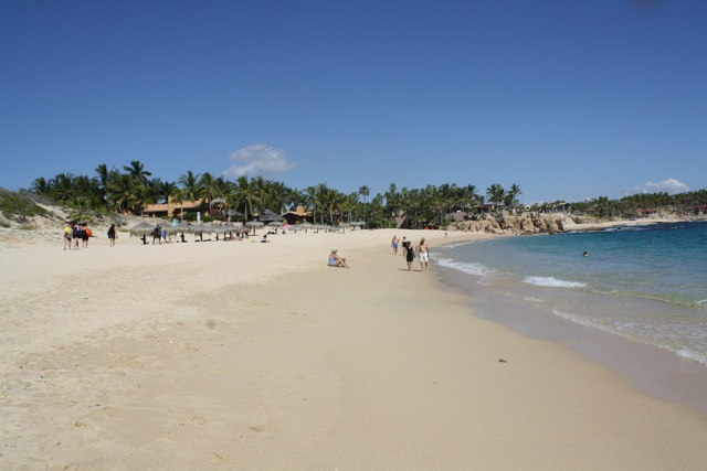 Chileno Beach in Cabo