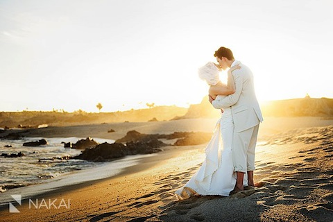 A destination wedding in Cabo San Lucas