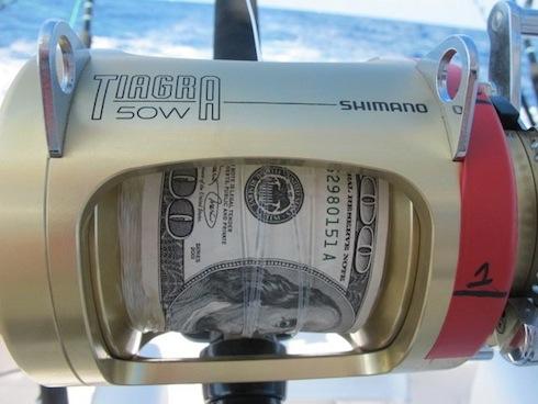 Dollars for fishing