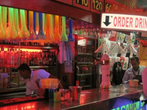 El Squid Roe is a popular bar in Cabo San Lucas Mexico.