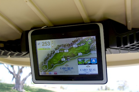 Most golf carts in Cabo feature GPS