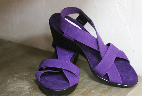 Handmade shoes from Mexico sold in Casa Vieja