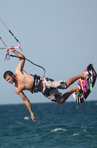 Kiteboarding in Cabo