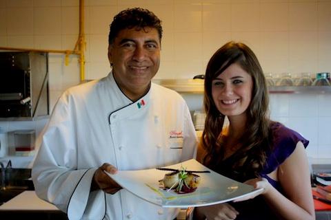 Manuel Arredondo and Cara Gourley