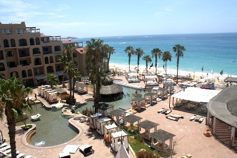 Nikki Beach is a popular Cabo party spot during the day.