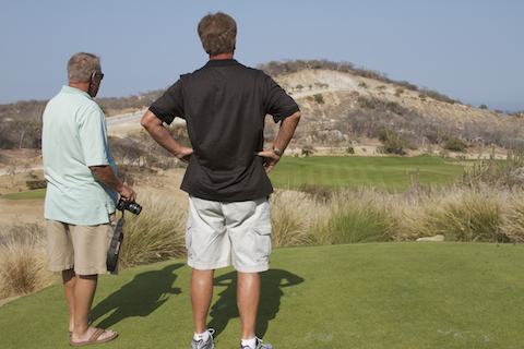 All About Cabo Team Members Larry and Bob scoop out the best golf courses in Cabo
