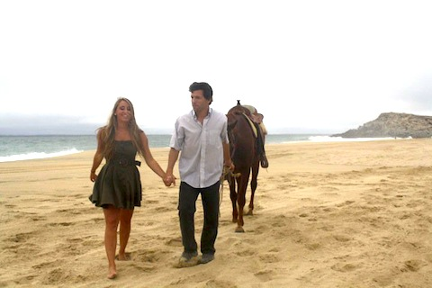 Horseback riding in Cabo is romantic