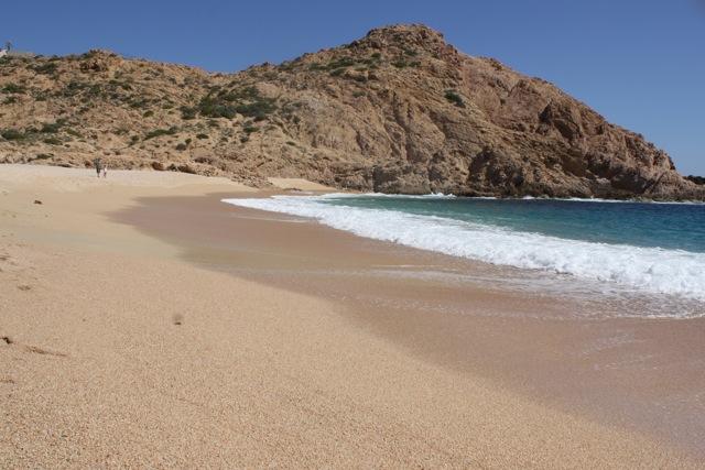 Santa Maria Beach in Cabo - Bahia Santa Maria