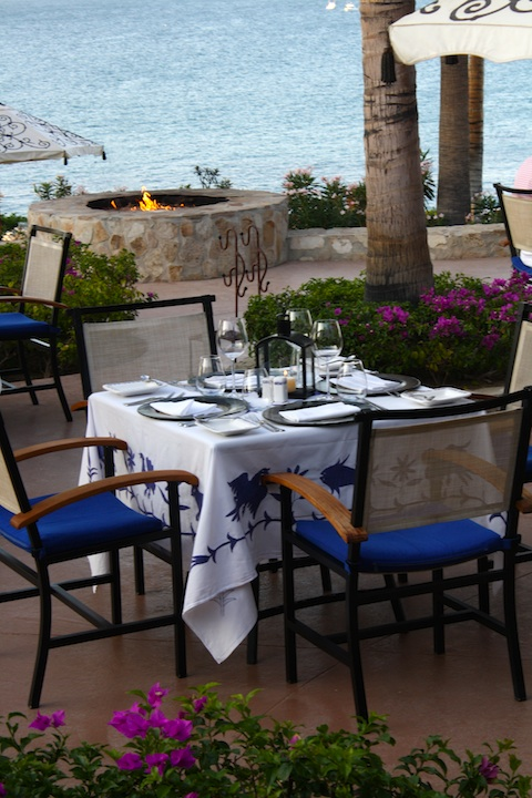 A Table at Agua Restaurant at the One&Only Palmilla