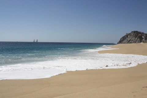 October weather in Cabo is usually warm and sunny.