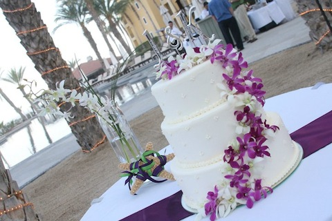 Wedding Cake in Cabo