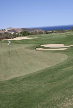 Golf Course hole in Cabo Mexico - Palmilla Golf Course