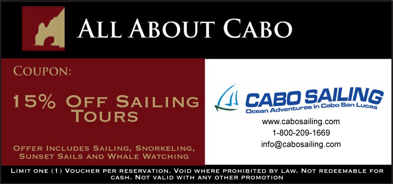 Cabo Sailing Coupon