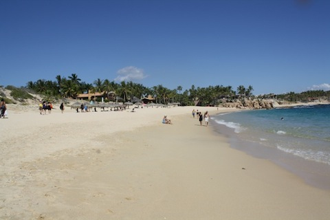Chileno Beach in the Los Cabos Corridor is great for snorkeling