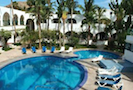 The Hotel Mar de Cortez is a located in downtown Cabo San Lucas.