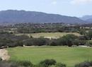 Mountain golf course in cabo
