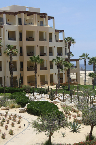 Cabo San Lucas Accommodations range from resorst like the Pueblo Bonito Pacifica Resort and Spa to boutique beach front hotels