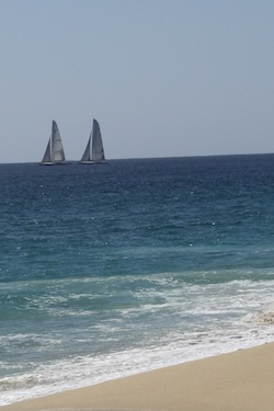 Sailing in Cabo