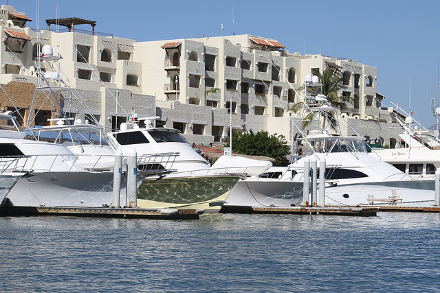 Yachts in Cabo San Lucas